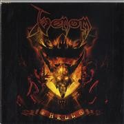 Venom Hell Germany CD album