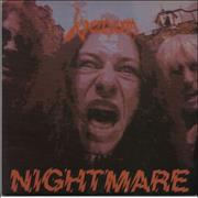"Venom Nightmare UK 7"" vinyl"