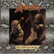 Venom The Singles 80-86 UK vinyl LP