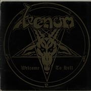 Venom Welcome To Hell - EX UK vinyl LP