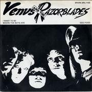 Click here for more info about 'Venus And The Razorblades - I Want To Be Where The Boys Are'