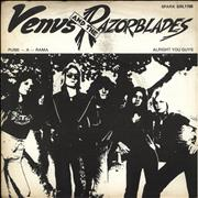 Click here for more info about 'Venus And The Razorblades - Punk-A-Rama - P/S'