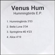 Click here for more info about 'Venus Hum - Hummingbirds EP'
