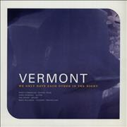 Click here for more info about 'Vermont - We Only Have Each Other In The Night - Blue Vinyl'