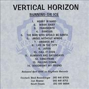 Click here for more info about 'Vertical Horizon - Everything You Want'