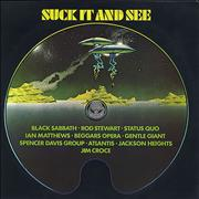 Vertigo Label Suck It And See Sweden vinyl LP