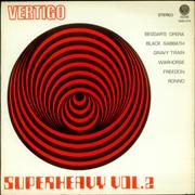 Vertigo Label Superheavy Vol. 2 Peru vinyl LP