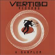 Vertigo Label Vertigo Records: A Sampler UK CD album Promo