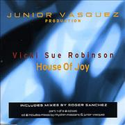 Click here for more info about 'Vicki Sue Robinson - House Of Joy'