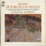 Click here for more info about 'Victoria De Los Angeles - Mélodies - Semi Circle Nipper Label'