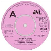 Click here for more info about 'Vigrass & Osborne - Mister Deadline'