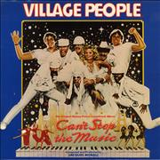 Click here for more info about 'Village People - Can't Stop The Music - Gold promo stamped'