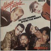 Click here for more info about 'Village People - Do You Wanna Spend The Night'