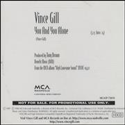 Click here for more info about 'Vince Gill - You And You Alone'