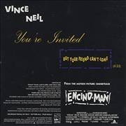 Click here for more info about 'Vince Neil - You're Invited But Your Friend Can't Come'