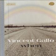 Click here for more info about 'Vincent Gallo - When'