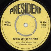 Click here for more info about 'Viola Wills - You're Out Of My Mind'