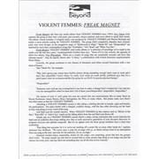 Click here for more info about 'Violent Femmes - Freak Magnet'