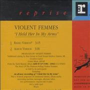 Click here for more info about 'Violent Femmes - I Held Her In My Arms'