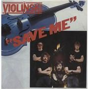 Click here for more info about 'Violinski - Save Me - Blue Vinyl'