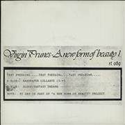Click here for more info about 'Virgin Prunes - A New Form Of Beauty - Test Pressing'