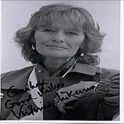 Click here for more info about 'Virginia McKenna - Autographed Portrait Photograph'
