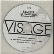 Click here for more info about 'Visage - 3-track Bonus CD'