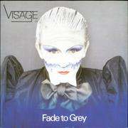 Click here for more info about 'Visage - Fade To Grey - P/S'