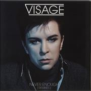 Click here for more info about 'Visage - Never Enough - Remixes'