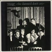 Click here for more info about 'Visage - The Damned Don't Cry - Glossy sleeve'