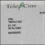 Click here for more info about 'Vitro - Mentally Dull'