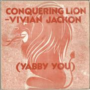 Click here for more info about 'Vivian Jackson - Conquering Lion'