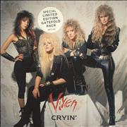 Click here for more info about 'Vixen - Cryin' - Gatefold Sleeve'