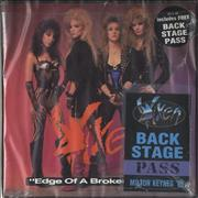 Click here for more info about 'Vixen - Edge Of A Broken Heart + Backstage Pass'