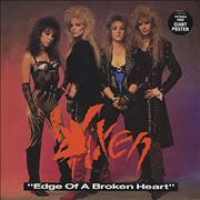 Click here for more info about 'Vixen - Edge Of A Broken Heart - EX'