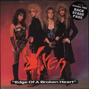 Click here for more info about 'Vixen - Edge Of A Broken Heart'