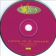 Click here for more info about 'Vixen - Love Is A Killer'