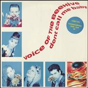 Click here for more info about 'Voice Of The Beehive - Don't Call Me Baby - Poster Sleeve'