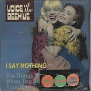 Click here for more info about 'Voice Of The Beehive - I Say Nothing + Badges - Sealed'