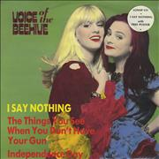 Click here for more info about 'Voice Of The Beehive - I Say Nothing + Poster - Sealed'