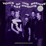 Click here for more info about 'Voice Of The Beehive - I Say Nothing - Poster Sleeve'