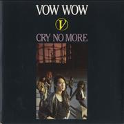 Click here for more info about 'Vow Wow - Cry No More'
