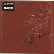 Click here for more info about 'Voyeurs - Rhubarb Rhubarb - Embossed Sleeve + Autographed'