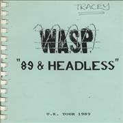 Click here for more info about 'WASP - '89 & Headless'