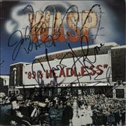 Click here for more info about 'WASP - '89 And Headless Tour - Autographed'