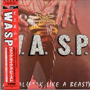 Click here for more info about 'WASP - Animal [F**k Like A Beast] + Sticker'