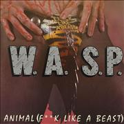 Click here for more info about 'WASP - Animal [F**k Like A Beast] - Clear Vinyl'