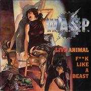 Click here for more info about 'WASP - Live Animal (F**k Like A Beast)'