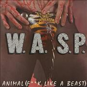 Click here for more info about 'WASP - Animal (F**k Like A Beast) - Green Vinyl'