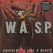 Click here for more info about 'WASP - Animal (F**k Like A Beast) - cod-piece p/s'